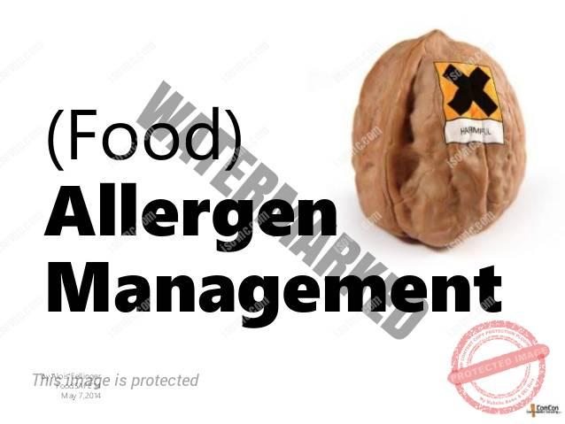 Hướng dẫn kiểm soát chất gây dị ứng thực phẩm